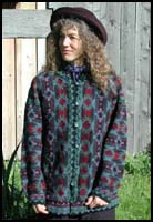 Dark Jewel Cossack Coat