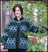 Deep Sea Kilim Jacket